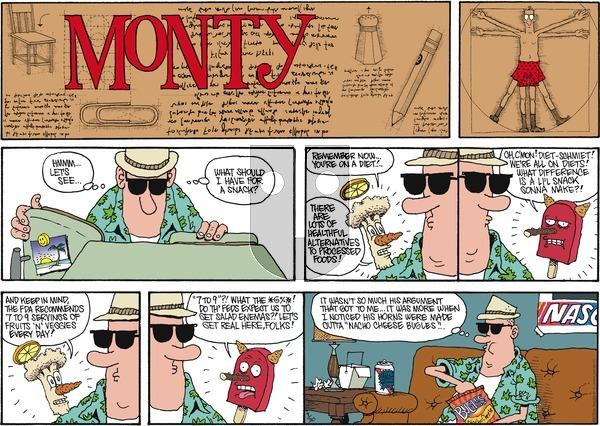 Monty on Sunday September 30, 2012 Comic Strip