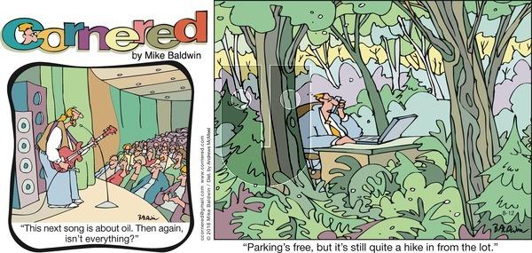 Cornered - Sunday August 12, 2018 Comic Strip