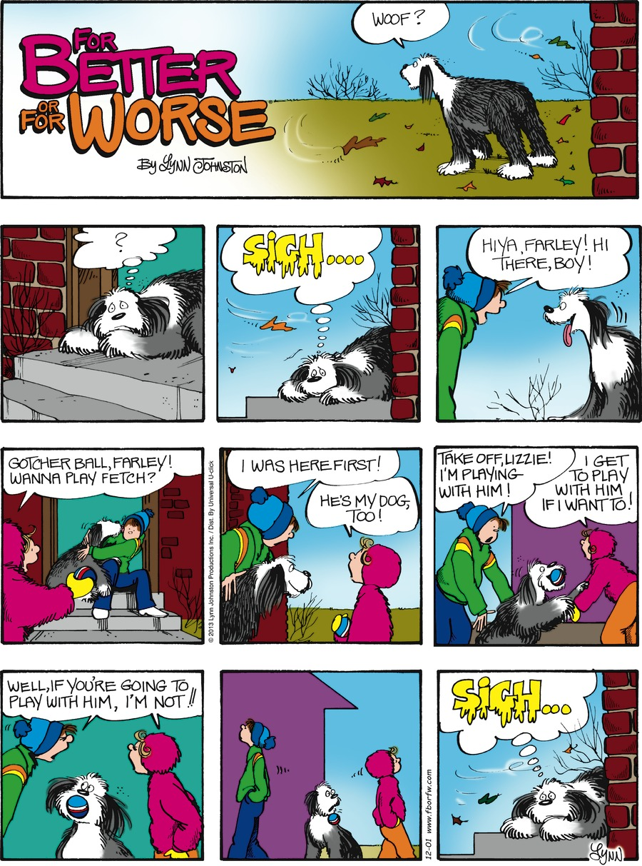 For Better or For Worse for Dec 1, 2013 Comic Strip