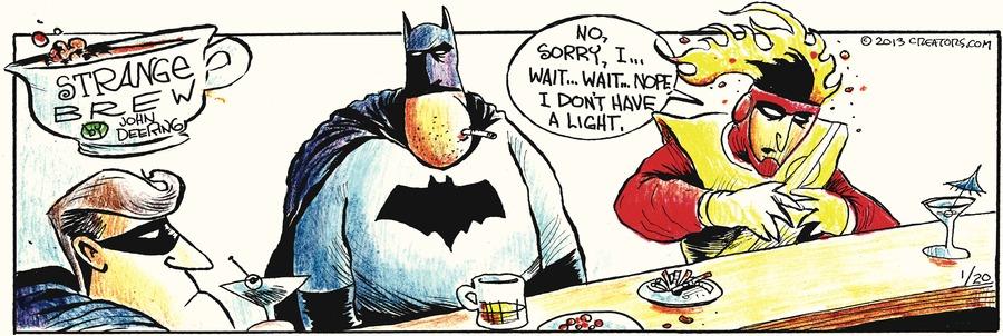 Strange Brew for Jan 20, 2013 Comic Strip