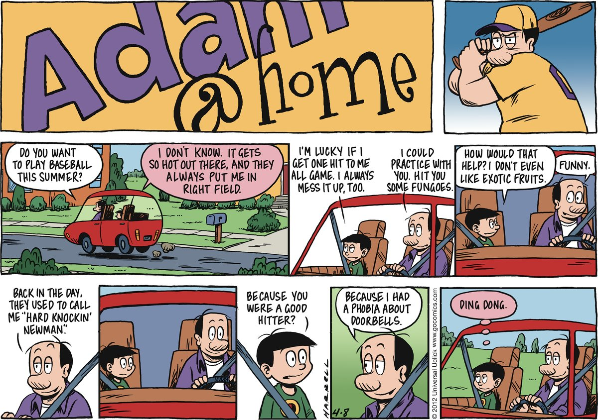 Adam@Home Comic Strip for April 08, 2012