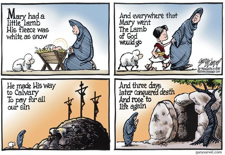 Gary Varvel for Mar 31, 2013 Comic Strip