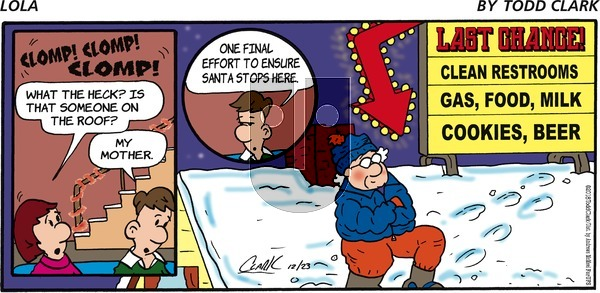 Lola - Sunday December 23, 2018 Comic Strip