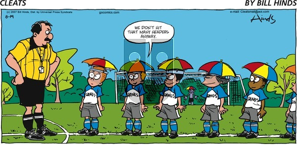 Cleats on Sunday August 19, 2007 Comic Strip