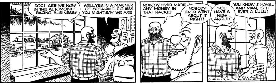 Alley Oop Comic Strip for July 17, 1970