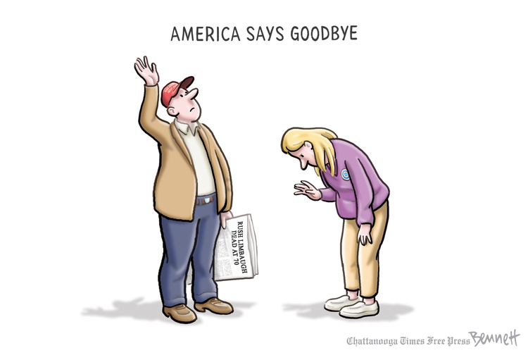 Clay Bennett Comic Strip for February 20, 2021