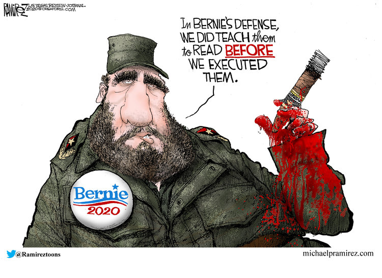 Michael Ramirez Comic Strip for February 26, 2020
