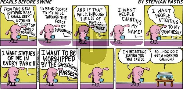 Pearls Before Swine - Sunday March 10, 2013 Comic Strip