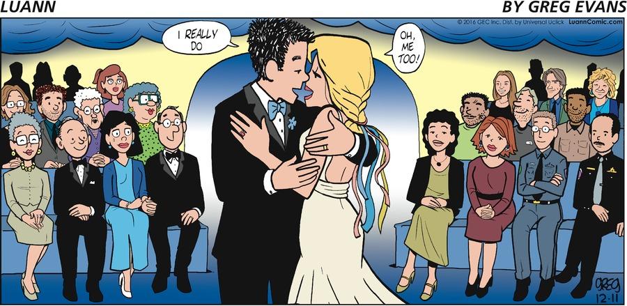 Luann Comic Strip for December 11, 2016