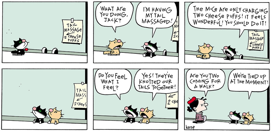 Ten Cats for Mar 17, 2013 Comic Strip