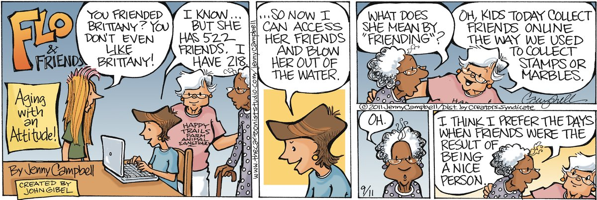 Flo and Friends Comic Strip for September 11, 2011
