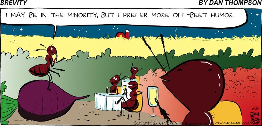 Brevity Comic Strip for June 29, 2014