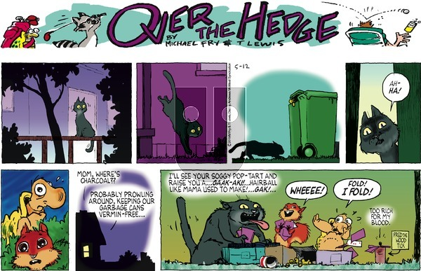 Over the Hedge on Sunday May 12, 2019 Comic Strip