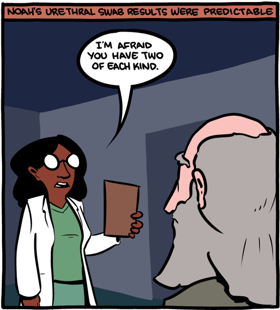 Saturday Morning Breakfast Cereal Comic Strip for March 29, 2015
