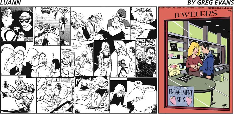 Luann for Apr 14, 2013 Comic Strip