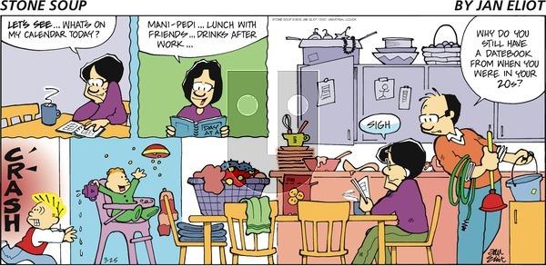 Stone Soup on Sunday March 25, 2012 Comic Strip