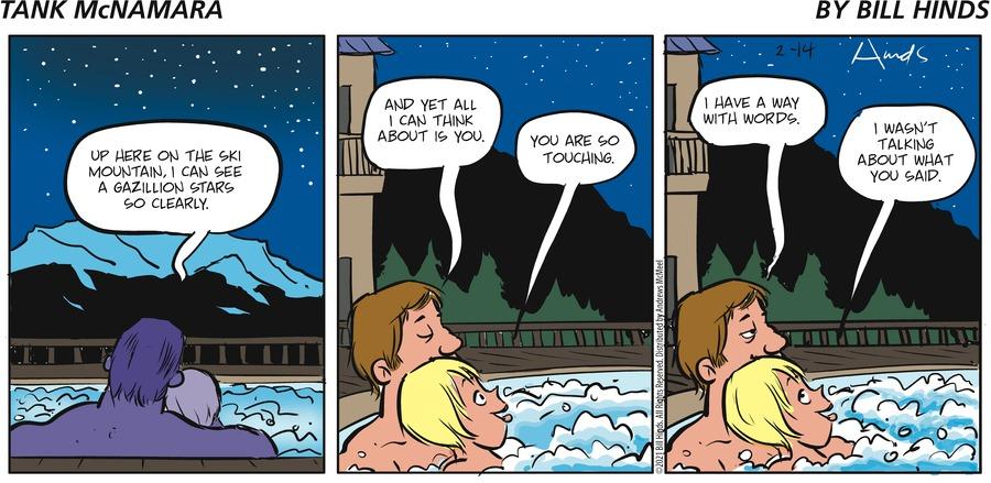 Tank McNamara Comic Strip for February 14, 2021