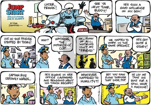 JumpStart on Sunday May 17, 2015 Comic Strip