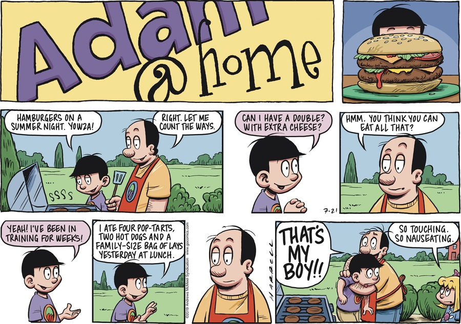Adam@Home Comic Strip for July 21, 2019