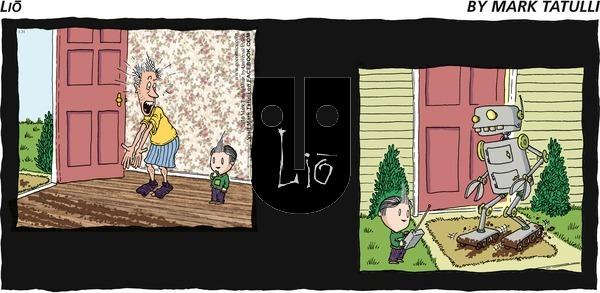 Lio on Sunday January 31, 2010 Comic Strip