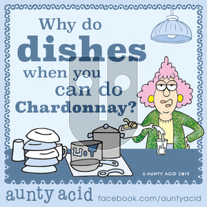 Aunty Acid on Saturday October 5, 2019 Comic Strip