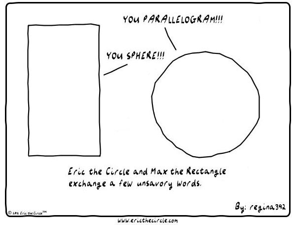Eric the Circle Comic Strip for March 05, 2015