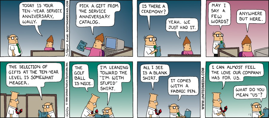 Dilbert Classics Comic Strip for November 22, 2020