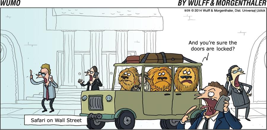 WuMo for Sep 28, 2014 Comic Strip