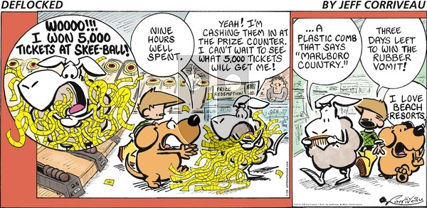 DeFlocked on Sunday July 28, 2019 Comic Strip