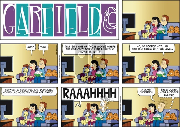 Garfield on Sunday April 12, 2020 Comic Strip