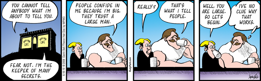 Rudy Park Comic Strip for June 18, 2019
