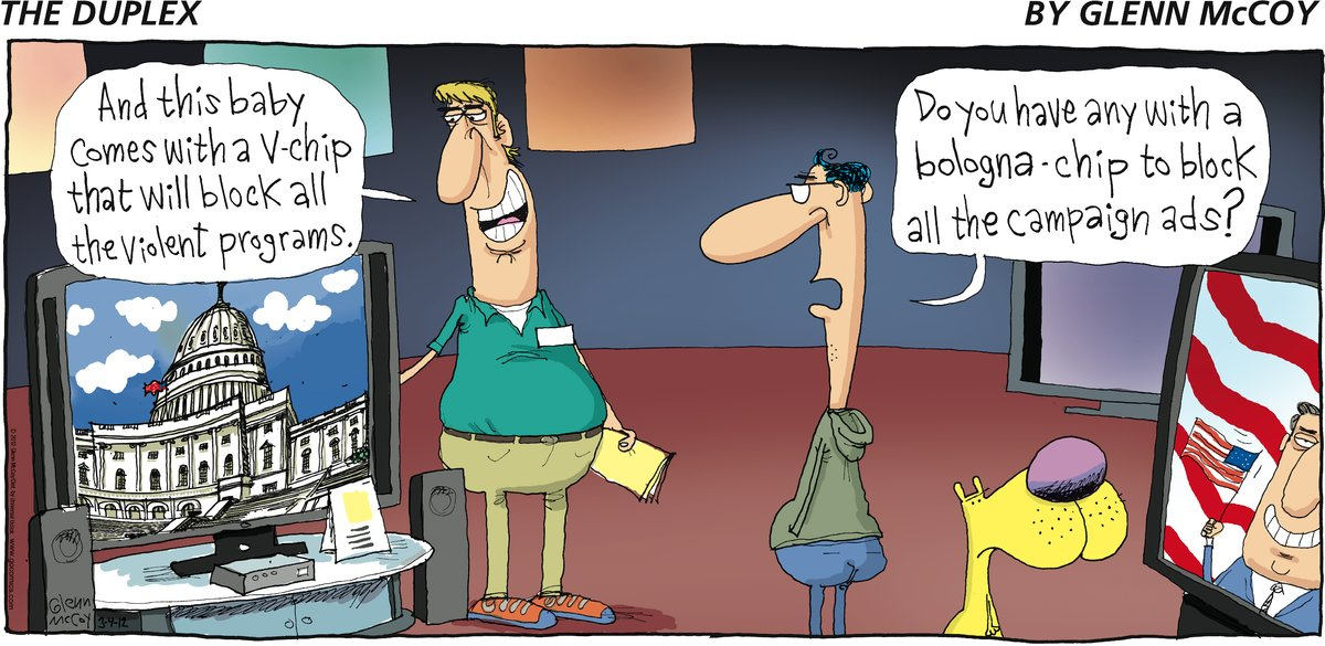 The Duplex for Mar 4, 2012 Comic Strip