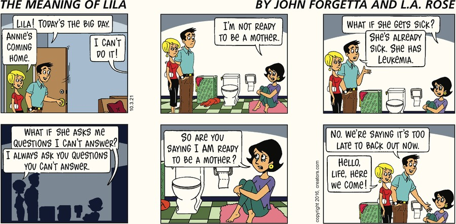The Meaning of Lila by John Forgetta and L.A. Rose on Sun, 03 Oct 2021
