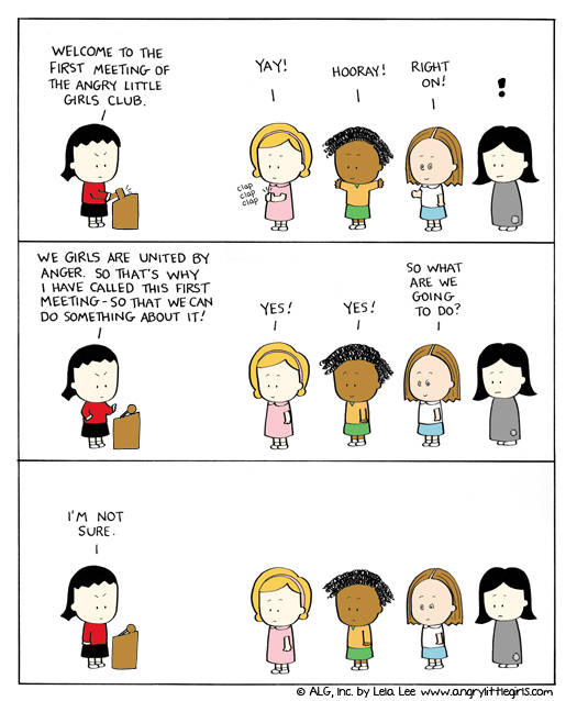 Angry Little Girls Comic Strip for August 08, 2011