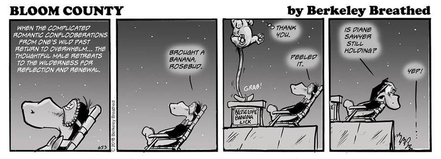 Bloom County 2019 Comic Strip for July 18, 2018