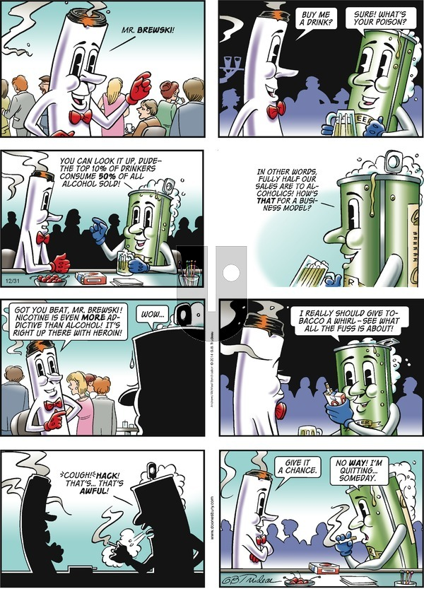 Doonesbury on Sunday December 31, 2017 Comic Strip