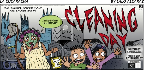La Cucaracha on Sunday June 23, 2019 Comic Strip
