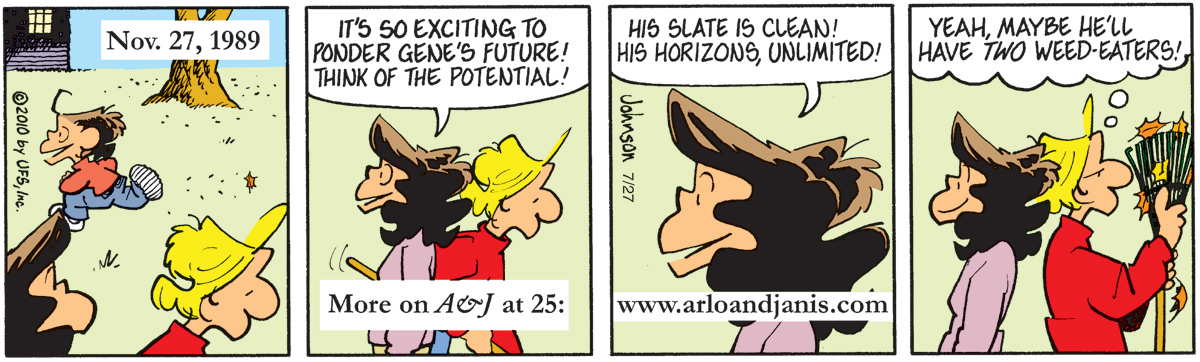 Arlo and Janis for Jul 27, 2010 Comic Strip