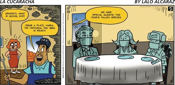 La Cucaracha - Sunday May 24, 2020 Comic Strip