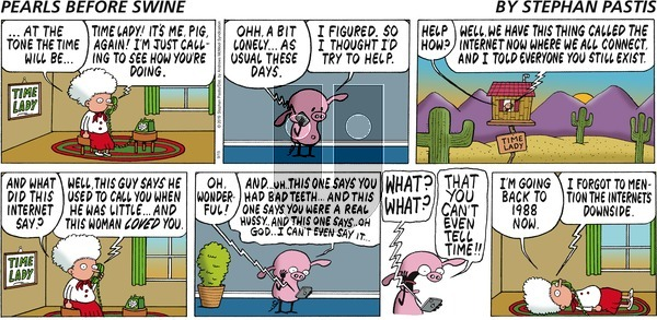 Pearls Before Swine - Sunday September 15, 2019 Comic Strip