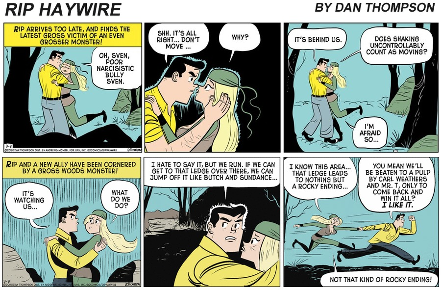 Rip Haywire Comic Strip for September 19, 2021