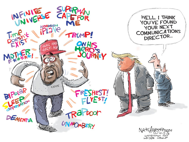 Nick Anderson Comic Strip for October 13, 2018