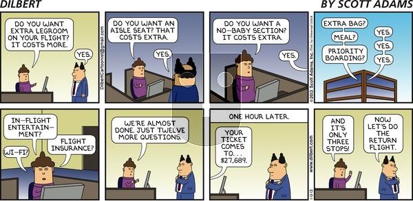 Dilbert on Sunday January 13, 2013 Comic Strip