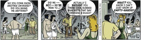 Alley Oop - Wednesday August 14, 2019 Comic Strip