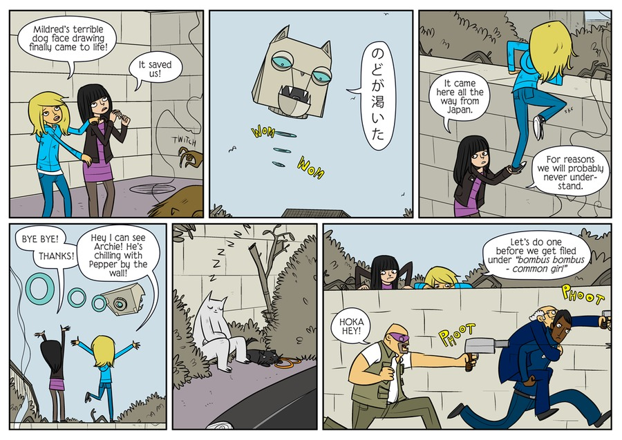 Bad Machinery Comic Strip for March 18, 2021