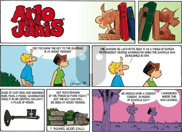 Arlo and Janis - Sunday July 14, 2013 Comic Strip