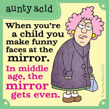 Aunty Acid for Nov 27, 2013 Comic Strip
