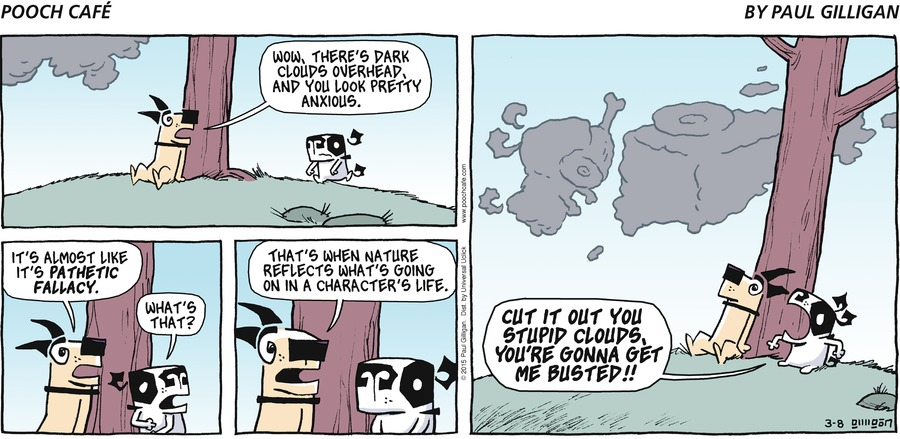 Pooch Cafe Comic Strip for March 08, 2015