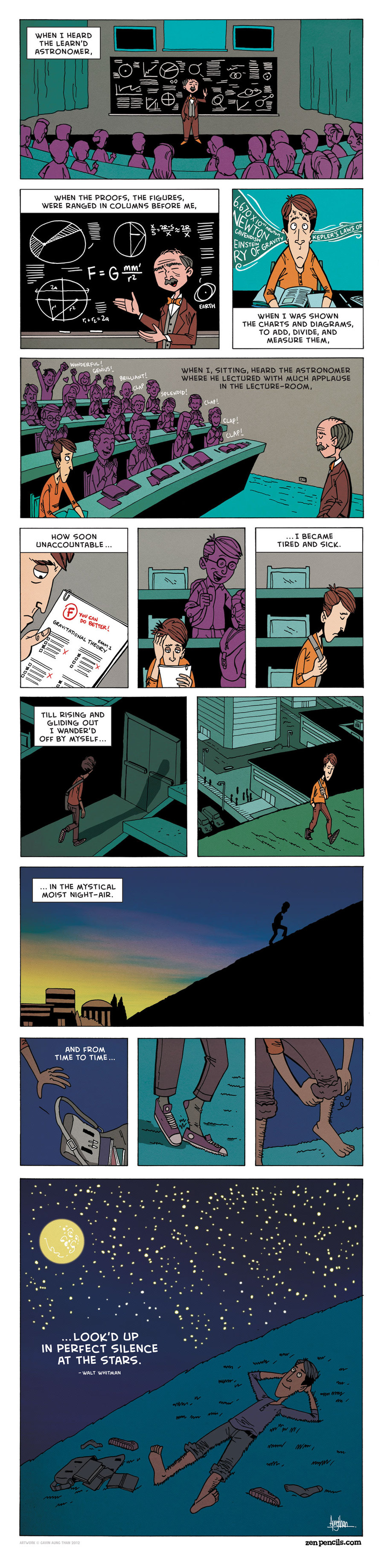 Zen Pencils for Jan 17, 2014 Comic Strip