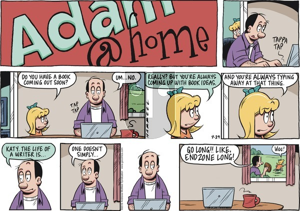 Adam@Home on Sunday September 29, 2019 Comic Strip